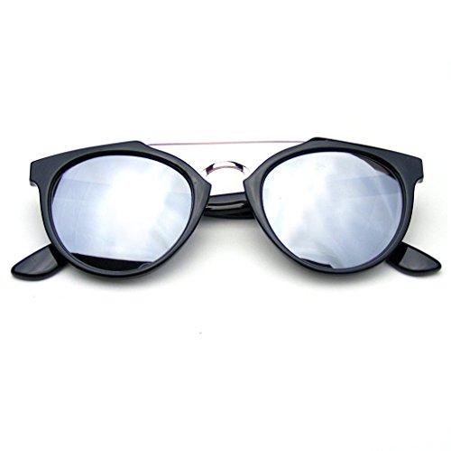 ispirazione-vintage-dapper-cross-bar-wayfarer-flash-revo-lenti-occhiali-da-sole-argento