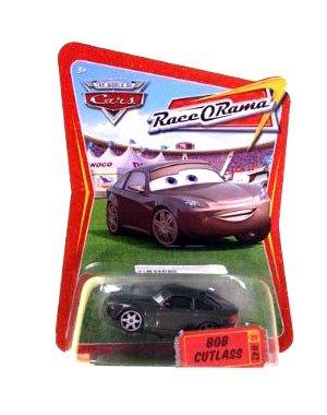 Disney Pixar Cars Race O Rama Bob Cutlass # 42 Mattel 1:55 Scale - 1