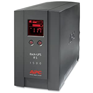 APC BACK-UPS RS BR1500LCD 1500VA/865W UPS System (Discontinued by Manufacturer)
