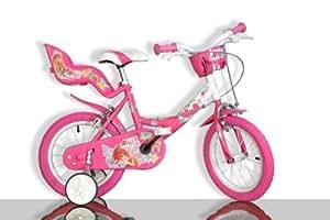 Dino Bikes Spa - A0801611 - Vélo et Véhicule pour Enfants - Vélo - 14 Pouces - Winx - Rose - Fille