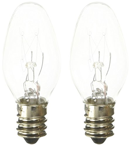 Tee-Zed Products Universal Replacement Night Light Bulbs, 2 Count