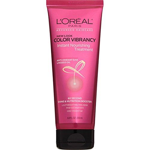 L'Oreal Paris Advanced Haircare Color Vibrancy Instant Shock Treatment, 6.8 oz (Loreal Advanced compare prices)