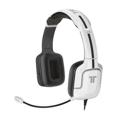 Tritton Kunai Stereo Headset For Wii U And Nintendo 3Ds - White
