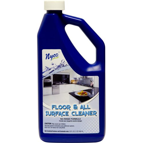 Nyco Products Nl90476 Floor And All Surface Cleaner, Citrus Lemon Lime Scent, 6.25 - 8.25 Ph, 1 Qt Bottle (Case Of 6) front-402281