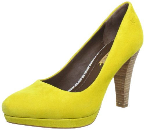 Marc O'Polo Pump Plateau Women's Yellow Gelb (banana 270) Size: 38 2/3