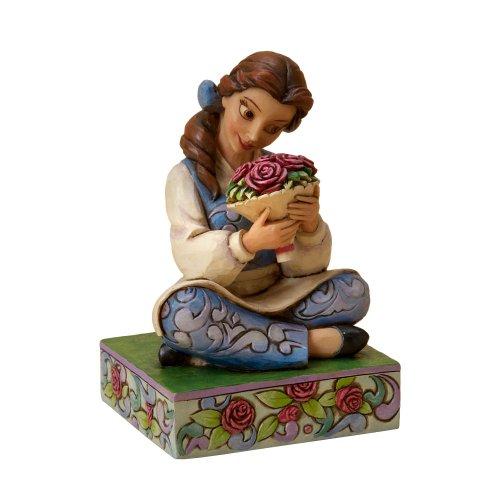 Disney Tradition 4023532 Belle Resina, Design di Jim Shore, 11 cm