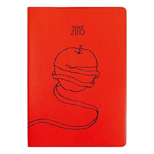 オレンジエアライン 2014年9月始まり手帳 マンスリーB6 Fresh/フレッシュ アップル [DMG55]