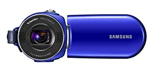 Samsung SMX-F34 Flash Memory Camcorder w/16GB Memory & 42x Intelli-Zoom (Blue)
