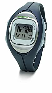 Sportline Solo 915 Montre Cardiofréquencemètre femme Gris