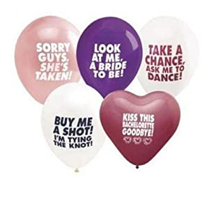 Bachelorette's Last Night Out Balloons