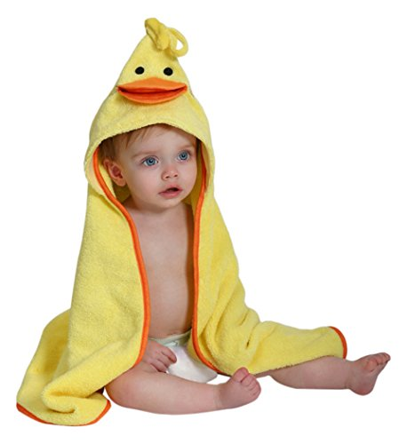 ZOOCCHINI Puddles the Duck Hooded Towel