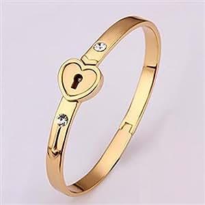 Amazon.com : Shiny Love Z050 Fashion Bangle Bracelet 18K