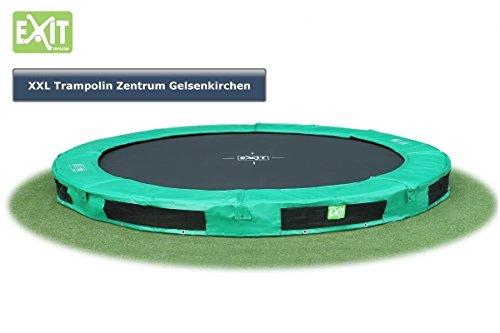 EXIT Trampolin InTerra 305 cm Inground grün Modell 2015 jetzt bestellen