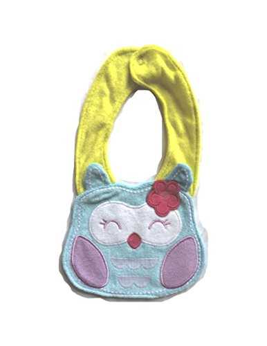Cute Animal Cotton/Polyester Baby Bib - One Size (Owl) front-913048