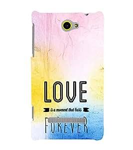 EPICCASE Moment to last Forever Mobile Back Case Cover For HTC One Max (Designer Case)