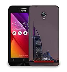 Snoogg Black Sea Designer Protective Phone Back Case Cover For Asus Zenfone GO