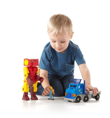 Imaginext City Big Rig And Robot front-508838