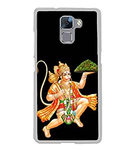 Lord Hanuman 2D Hard Polycarbonate Designer Back Case Cover for Huawei Honor 7 :: Huawei Honor 7 Enhanced Edition :: Huawei Honor 7 Dual SIM