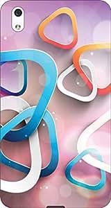 Meraki Printed Back Cover for Lyf Water 1