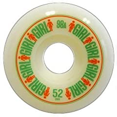 Buy Girl Softline Skateboard Wheels 52mm by Girl