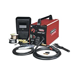 Factory-Reconditioned Lincoln Electric U2185-1 Handy MIG Welder, 115/1/60 Input Power, 20A Input Current (Pack of 1) by The Lincoln Electric Company