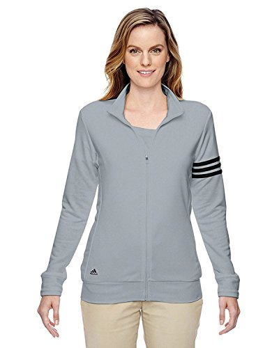 Adidas-Ladies-3-Stripes-Full-Zip-Pullover-Jacket-A191