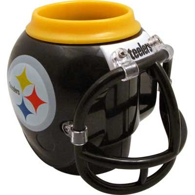 Steelers Helmet Fan Mug/can Cooler from Gift House