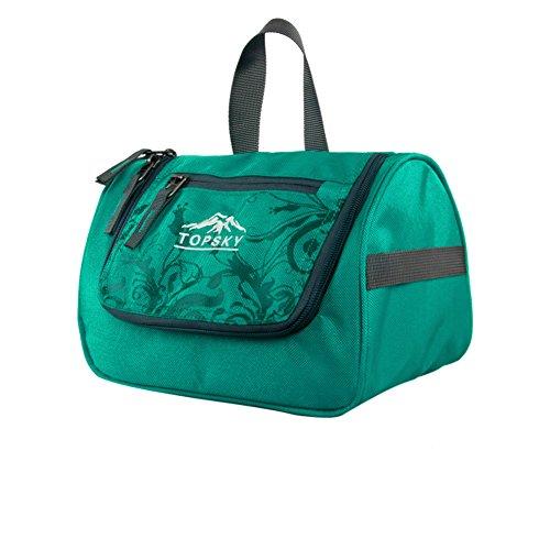 sac de lavage extérieur sac cosmétique / Voyage de Voyage fournitures essentielles package / d'admission-vert