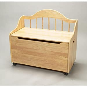 wood toy chest bench plans
