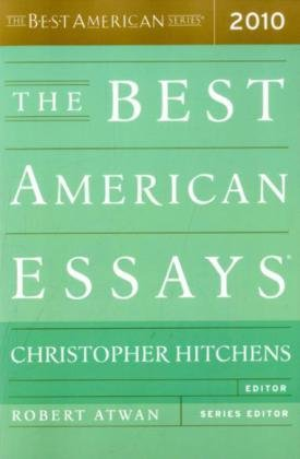 The Best American Essays 2010