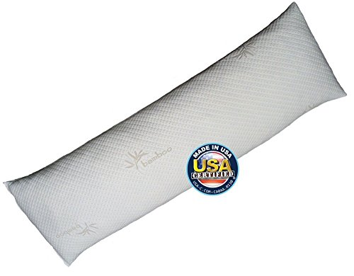 Body-Pillow-by-Snuggle-Pedic-Bamboo-Shredded-Memory-Foam-Combination-With-Kool-Flow-Cover