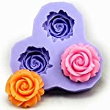 2.9cm Flower F0130 Fondant Mold Silicone Sugar mini mold Craft Molds DIY Cake Decorating