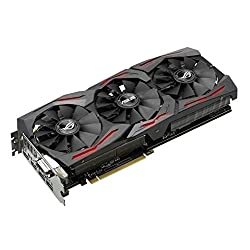 ASUSTek R.O.G. STRIXシリーズ NVIDIA GeForce GTX1080搭載ビデオカード ベースクロック1759MHz STRIX-GTX1080-O8G-GAMING