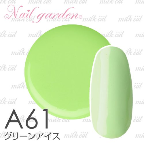 Nail garden ネイルガーデン カラージェル4g グリーンアイス