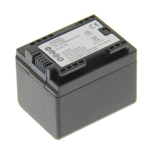 Power Akku Li-Ion Typ BP-727 (kein Original) für Canon LEGRIA HF M52 LEGRIA HF M56 LEGRIA HF M506 LEGRIA HF R36