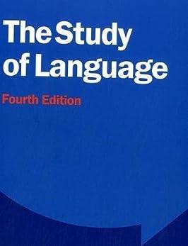 The Study of Language 4th Edition