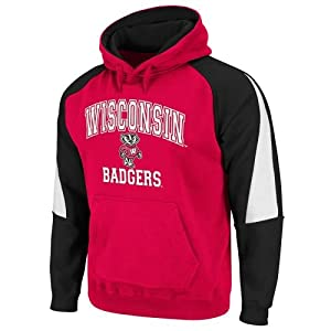 Wisconsin Badgers Playmaker Hooded Sweatshirt by SportShack INC