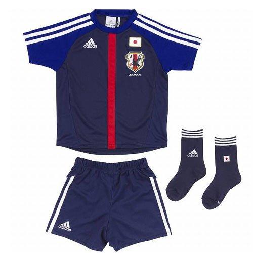 adidas(アディダス) 日本代表 ミニキット ホーム レプリカ ジャージー サッカー キッズ ジャパンディープブルー dj115-x49706 100サイズ