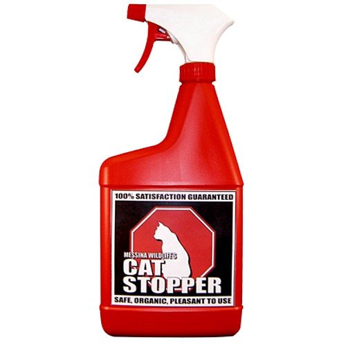 Messina Wildlife CA-U-016 Cat Stopper 32-Ounce Trigger Bottle, Organic