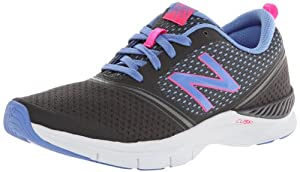 New Balance Women's 711 Mesh Cross-Training Shoe,Dark Grey/Purple,8 B US