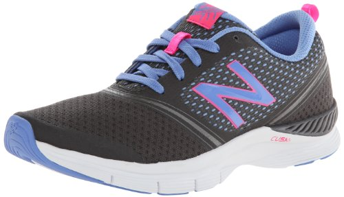 New Balance Women'S Wx711 Cross-Training Shoe,Dark Grey/Purple,7 B Us