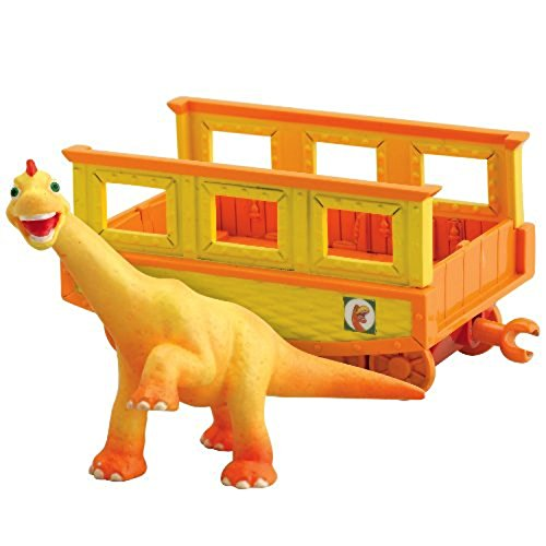 Dinosaur Train - Collectible Ned With Train Car - 1