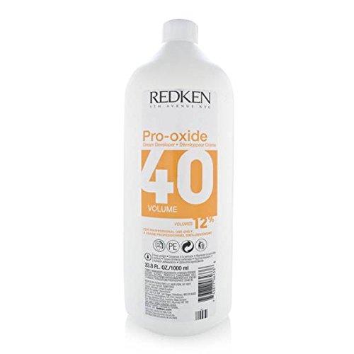 Redken Pro-Oxide 40 Volume 12% Cream Developer, 33.79 Ounce (Redken Pro Oxide Developer compare prices)