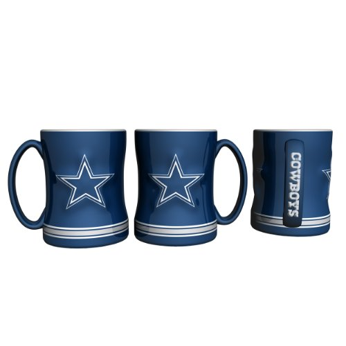 NFL Dallas Cowboys Boxed Relief Sculpted Mug at Amazon.com