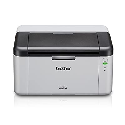 Brother HL-1211W Compact Monochrome Laser Printer with Wireless Capability