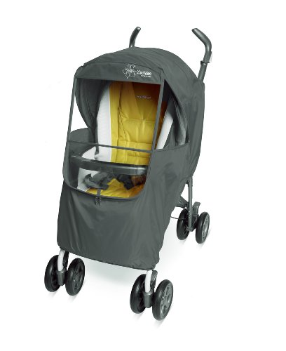 Manito Elegance Plus Stroller Weather Shield / Rain Cover (Gray- 5 Available Colors) front-170351