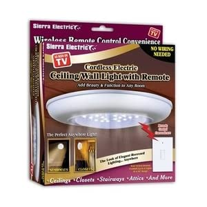 sierra tools jb5571 battery operated ceiling wall light with remote vanity lighting fixtures. Black Bedroom Furniture Sets. Home Design Ideas