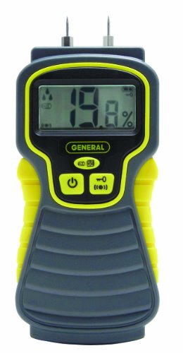 General Tools & Instruments Mmd4E Moisture Meter, Pin Type, Digital Lcd