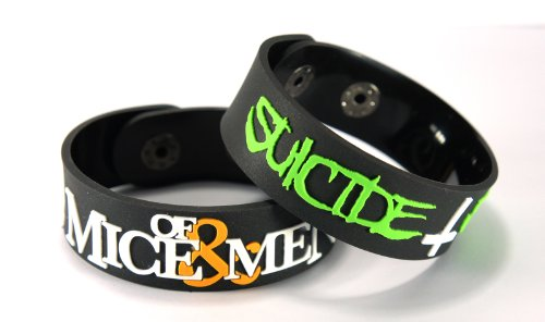 OF MICE & SUICIDE SILENCE (2x) 2-Bracciale, MMSS Mix