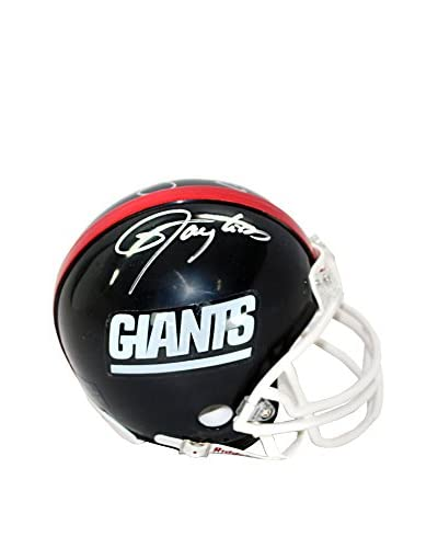 Steiner Sports Memorabilia Mark Bavaro,Lawrence Taylor, & Bill Parcells Triple-Signed Giants Mini He...